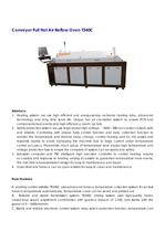 Conveyor hot air Reflow Oven 4 zones