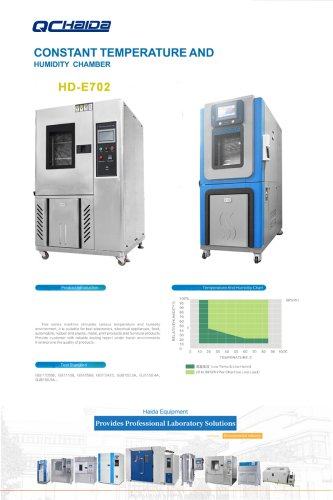 Environmental Test Chamber With Programmable