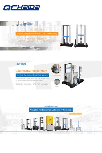 Foam IFD Compression Tester Hardness Impact Testing Machine