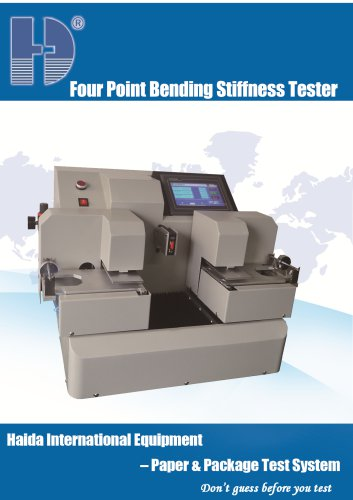 Four Point Bending Stiffness Tester Information