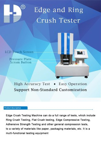 HD-A513 Edge and Ring Crush Tester