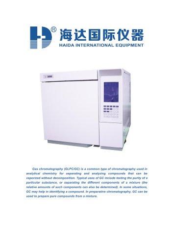 Hplc gas chromatography mass spectrometry (GLPC/GC)