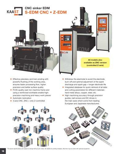 S-EDM CNC • Z-EDM