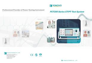 CT Analyzer/CT Test - based on low frequency and variable frequency methods