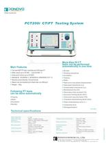 CT analyzer PCT200i | IEC60044-1/6