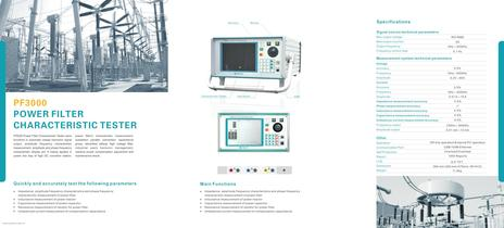 DC Converting Station Test Set PF3000
