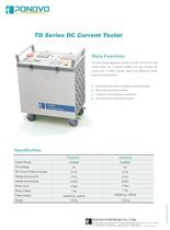 DC test equipment TD4000 |  0-4000A