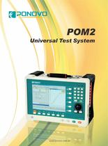 digital transformer protection relay POM2 Brochure