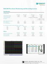 MR1200 Waveform Monitoring and Recording System