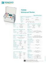 Protection Relay Test Set-Single Phase Relay Tester