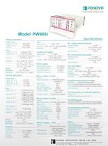 Protection Relay Test Sets PW666i(6*32A, 6*150V)