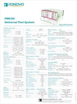 Protective relay test set PW636i|Aux DC (0-300V), DC inputs