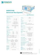 Protective relay testing equipment | TD4000