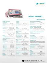 Relay test set PW431D-6 Current Relay Testing System