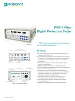 Relay Test Set PWF Fiber Digital Protection Tester Brochure