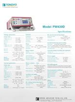 Relay tester set PW430D 3 current relay testing system