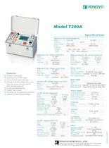 Single Relay Test Set T200A|0-120V/60VA