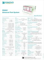 Three phase relay testing set PW460|6*15A, 4*300V