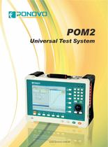 Universal relay test set POM-2