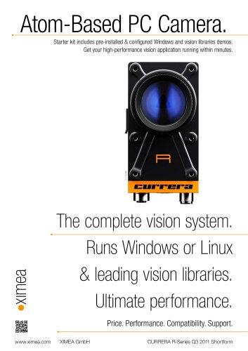 CURRERA-R - XIMEA - PDF Catalogs   Technical Documentation   Brochure