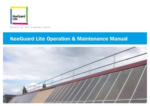 Aluminium Free Standing Roof Edge Protection