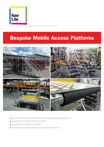 Bespoke Access Platforms
