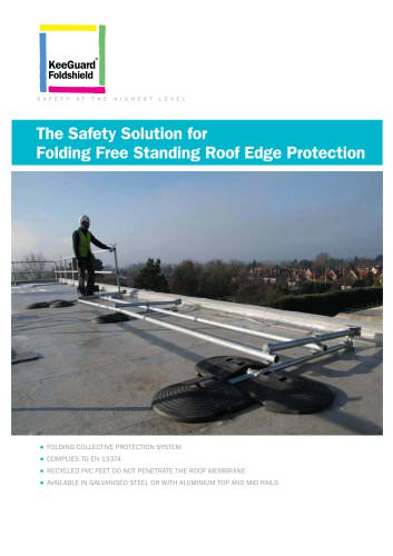 Folding Free Standing Roof Edge Protection