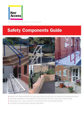 Kee Access : Components for Handrails for Disabled