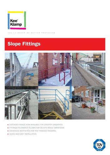 Kee Klamp Slope Fittings