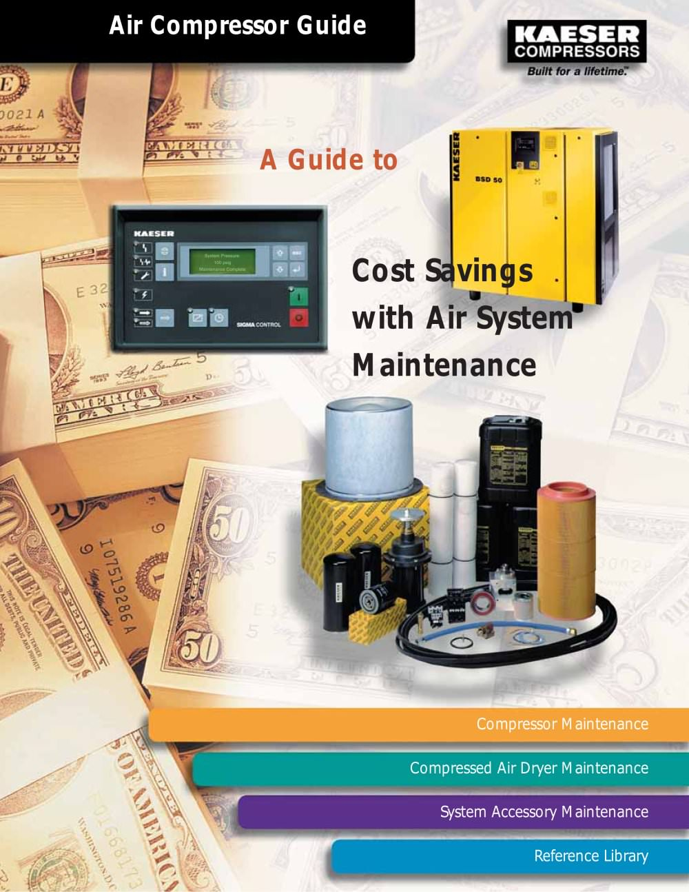 Air System Maintenance - Guide 5 - 1 / 8 Pages