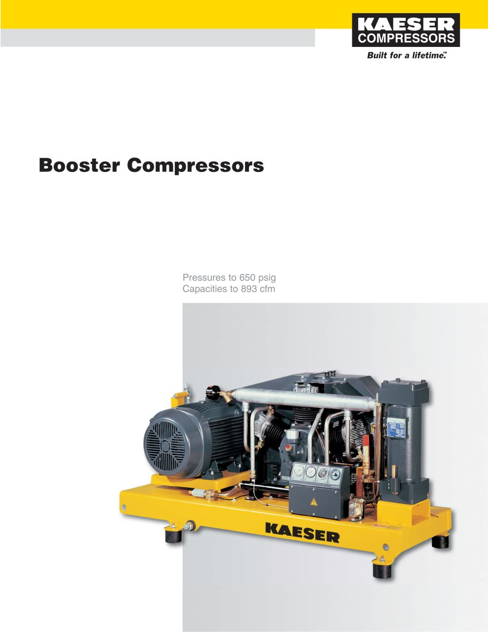 Booster Compressors - 1 / 6 Pages