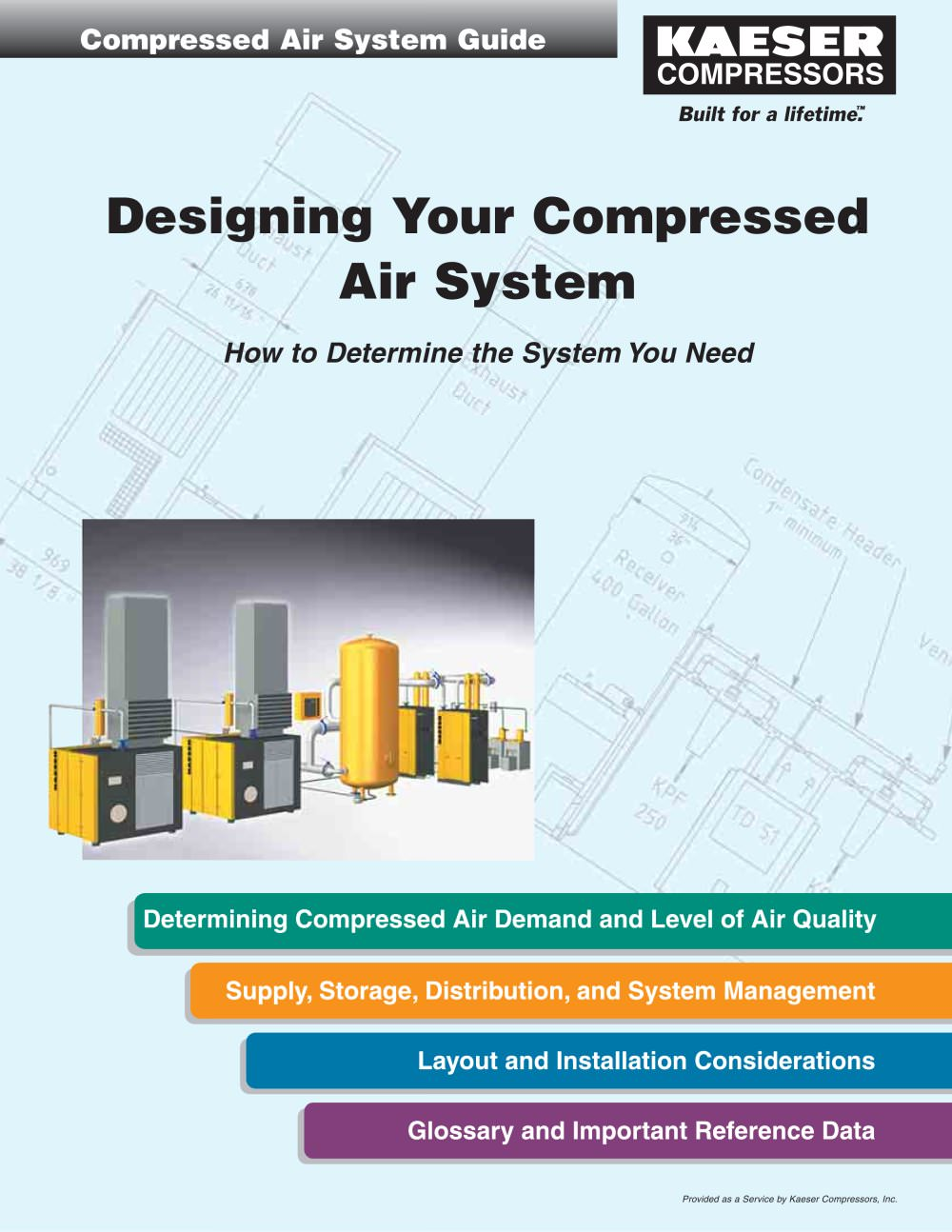 Designing Your Compressed Air System - Guide 3 - 1 / 8 Pages