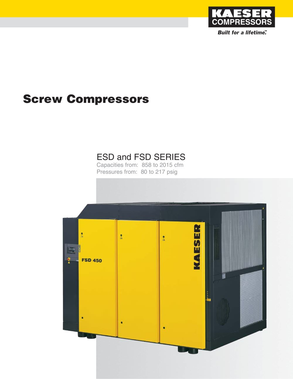 ESD and FSD Compressors - 1 / 6 Pages