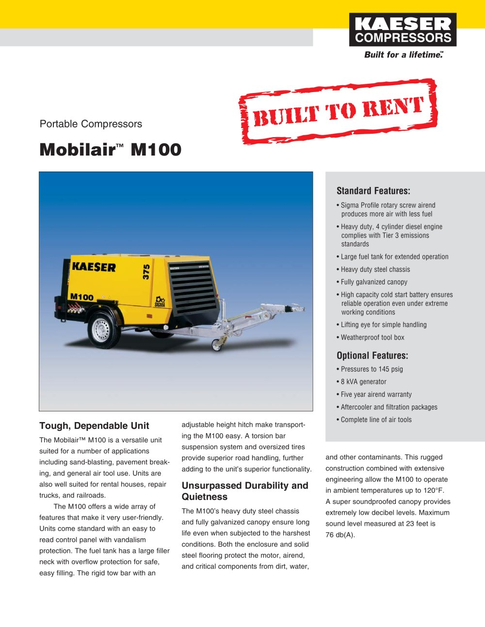 Mobilair M100 - 1 / 2 Pages