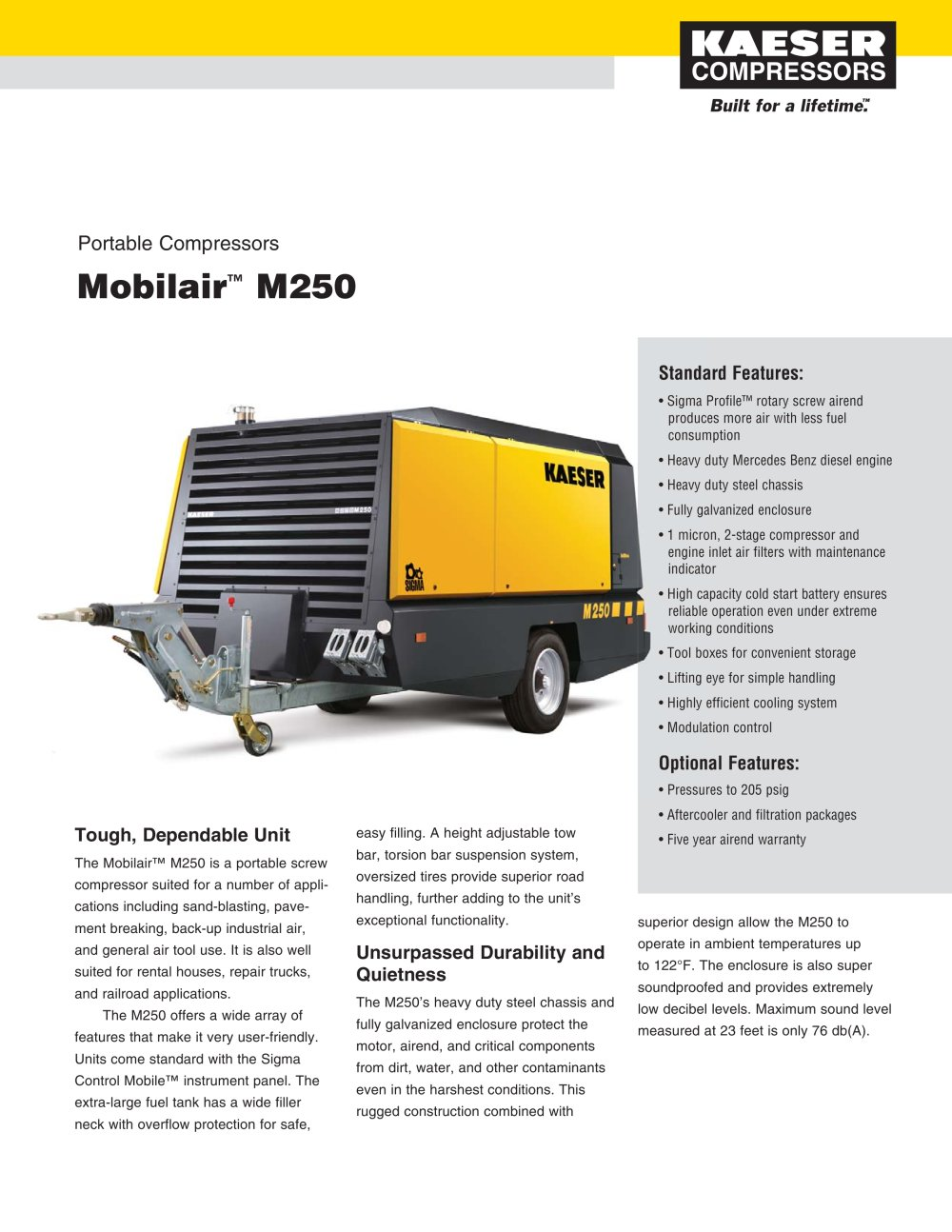 Mobilair M250 - 1 / 2 Pages