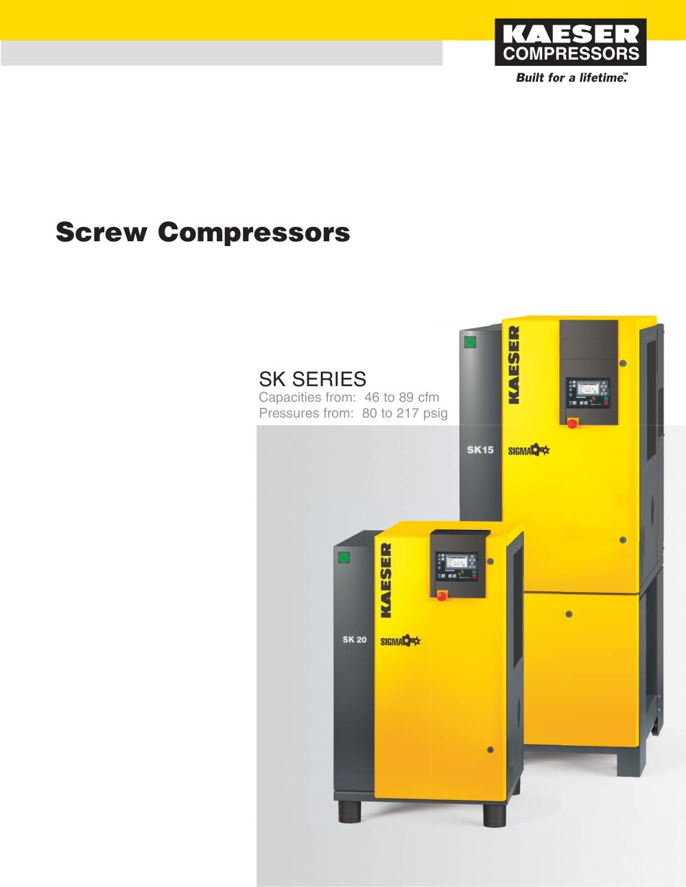 sk series compressors kaeser compressors pdf catalogue rh pdf directindustry com Kaeser BS 61 Manual Kaeser BS 61 Manual