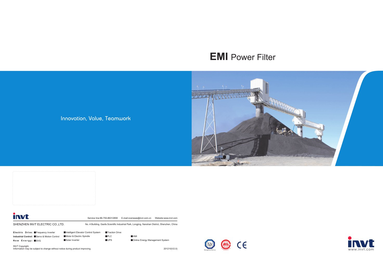 EMI power filter - 1 / 8 Pages