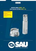 NEWS 209-6 NEW MILLING-CUTTERS S9001-..W..