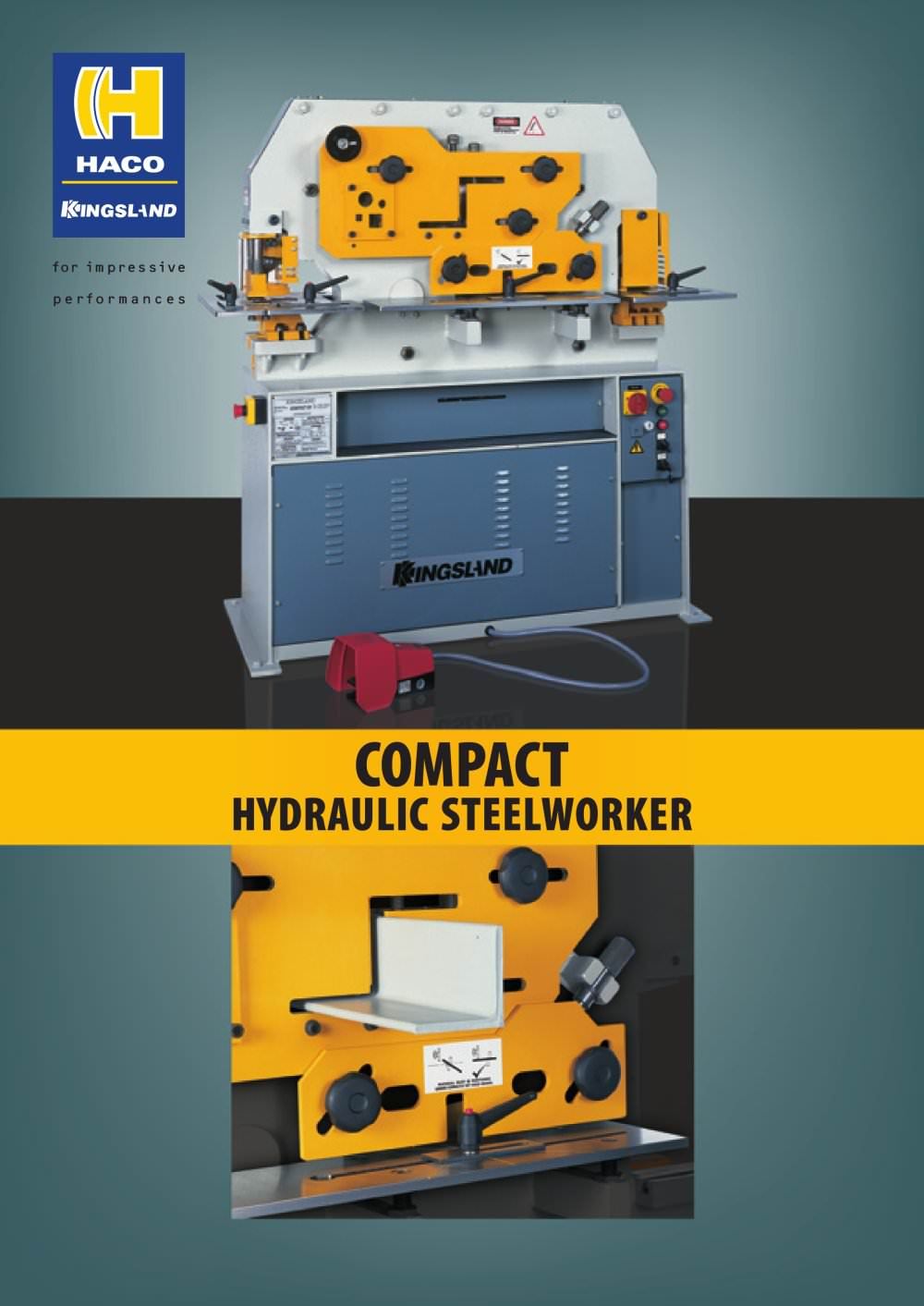 COMPACT HYDRAULIC STEELWORKER - Kingsland Engineering - PDF ...