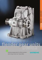 FLENDER Girth Gear Units for Tube Mills