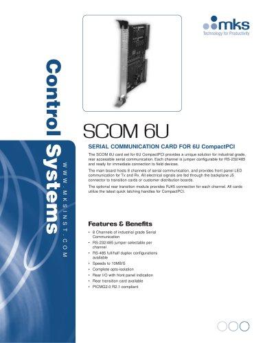 SCOM 6U - MKS Instruments - PDF Catalogs | Technical