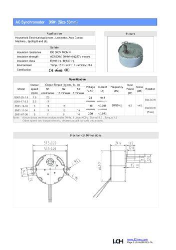 AC Syn-Motor S501(50mm)