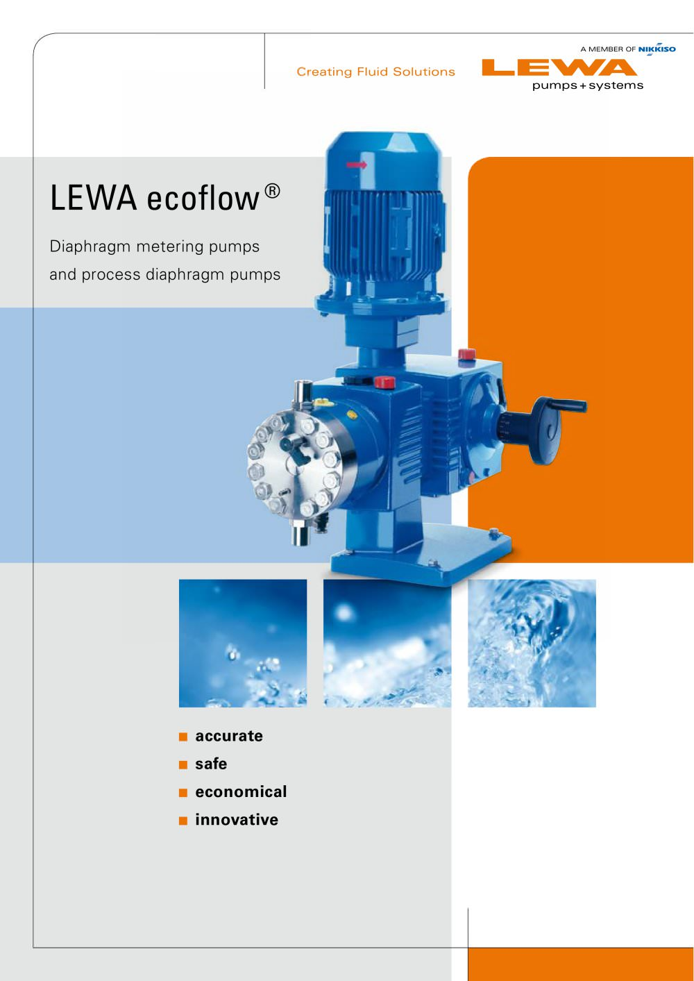 Lewa ecoflow diaphragm metering pumps and process diaphragm pumps lewa ecoflow diaphragm metering pumps and process diaphragm pumps 1 16 pages ccuart Images