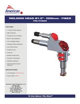 WELDING HEAD �1.5' - f250mm - FIBER