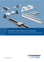 RoundRail Linear Guides and Components