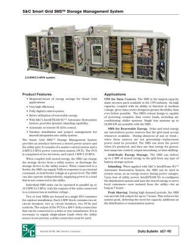 Smart Grid SMS Storage Management System
