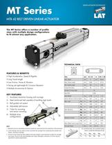 MTB Series Linear Actuators - MTB 042, MTB 055, MTB 080