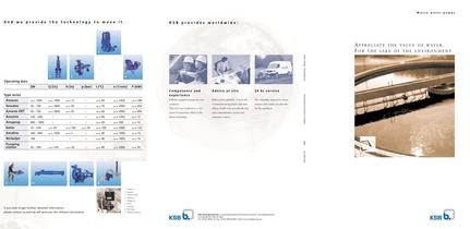 Brochure &quot;Waste water pumps&quot;