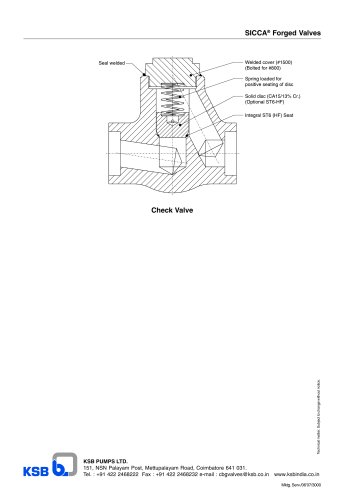 SICCA GTF 800-2500