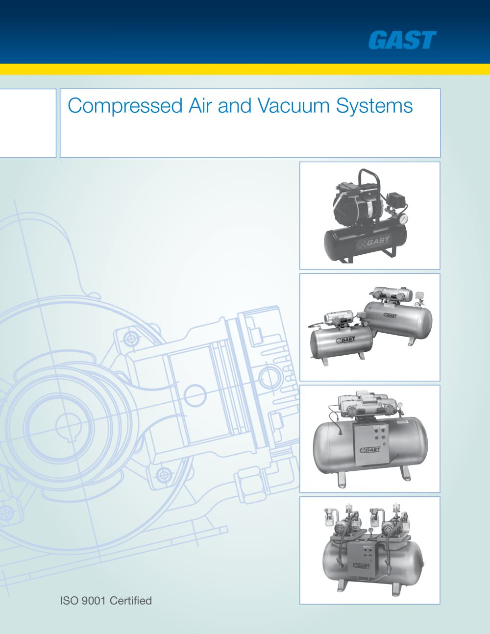 Compressed Air Systems Gast Pdf Catalogue Technical Rover Vacuum Diagram 1 13 Pages